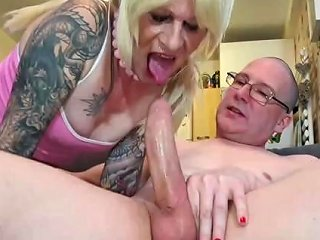 Sissy Charlotte Deepthroats And Gets Fucked Hard By Big Cock