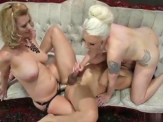 Lovely T Girl Rimjob And Ejaculation